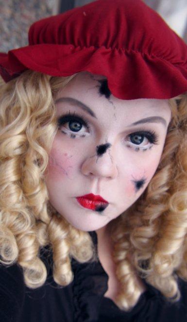 Makeup your Jangsara: Tutorial: Broken Doll  Makeup your Jan...