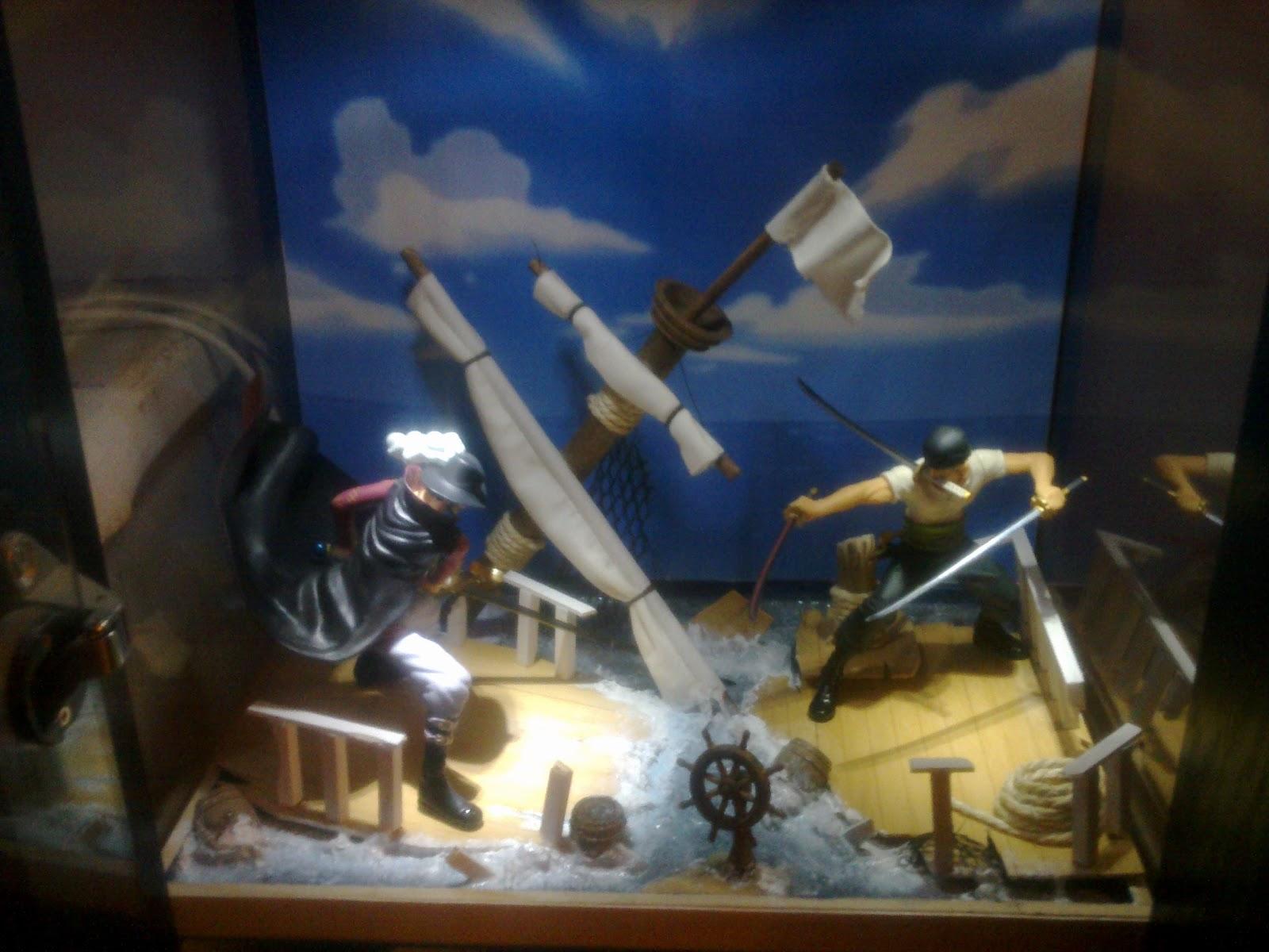 Fenêtre Sur Diorama One Piece Par Heat31171