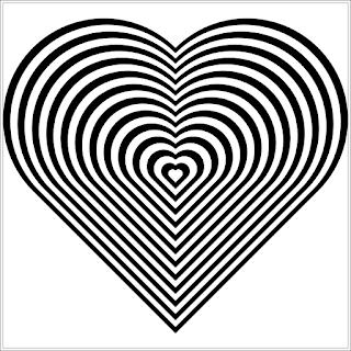 Ausmalbilder Herz zum Ausdrucken
