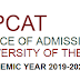 UPCAT Result for school year 2019-2020