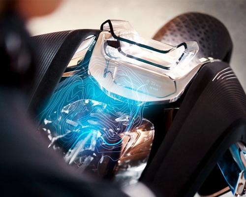 www.Tinuku.com BMW Motorrad Next Vision 100 digital tech future autonomous motorcycle brand