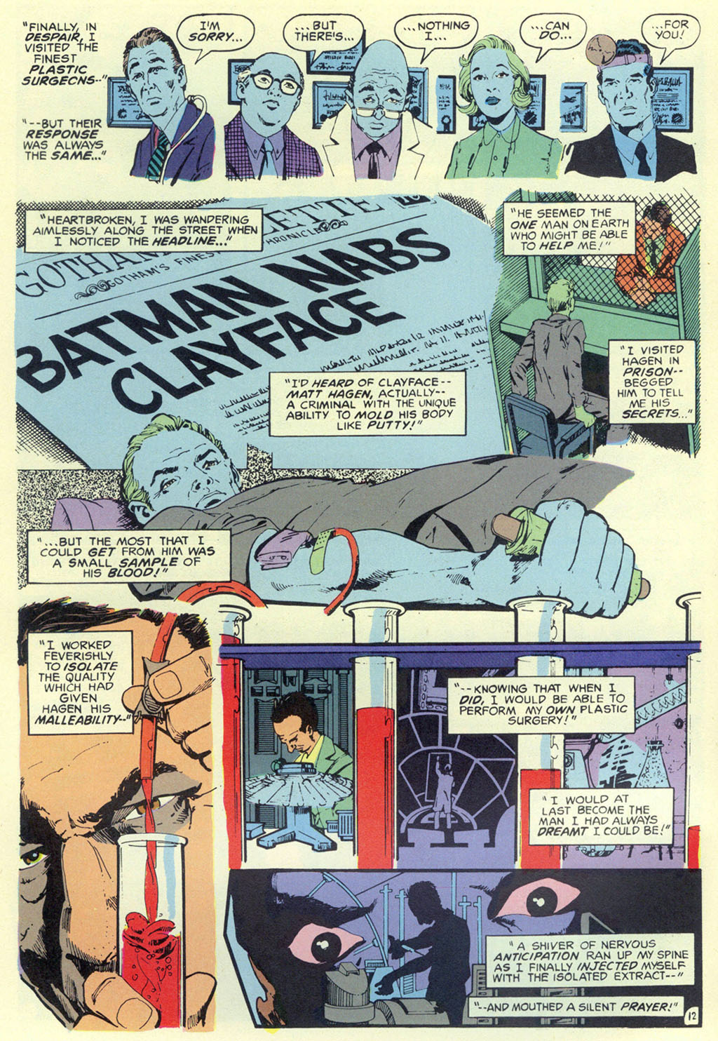 Read online Shadow of the Batman comic -  Issue #5 - 15