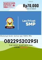 Hamasah les privat SMP Bandung