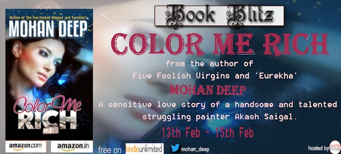 Book Blitz: Color Me Rich by Mohan Deep