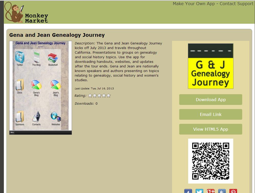 Gena's Genealogy: Get the Official Gena and Jean Genealogy
