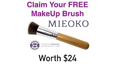 Free Mieoko Kabuki Brush