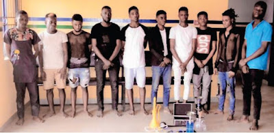 I Was Lured to Join Gay Club in Lagos With US Visa - Man Nabbed During Initiation
