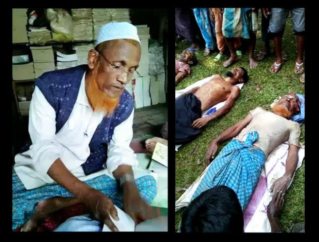 2000 Umat Islam Dibunuh Tentara Myanmar, Termasuk Ulama Rohingya Syaikh Faizul Islam
