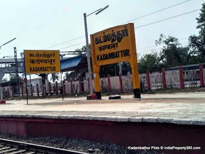 Kadambathur Plots - Kadambathur Railway Station