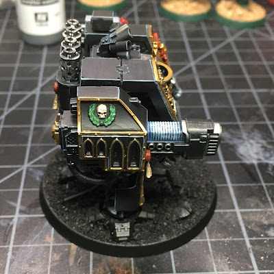 WIP: Deathwatch Dreadnought (Right Side)