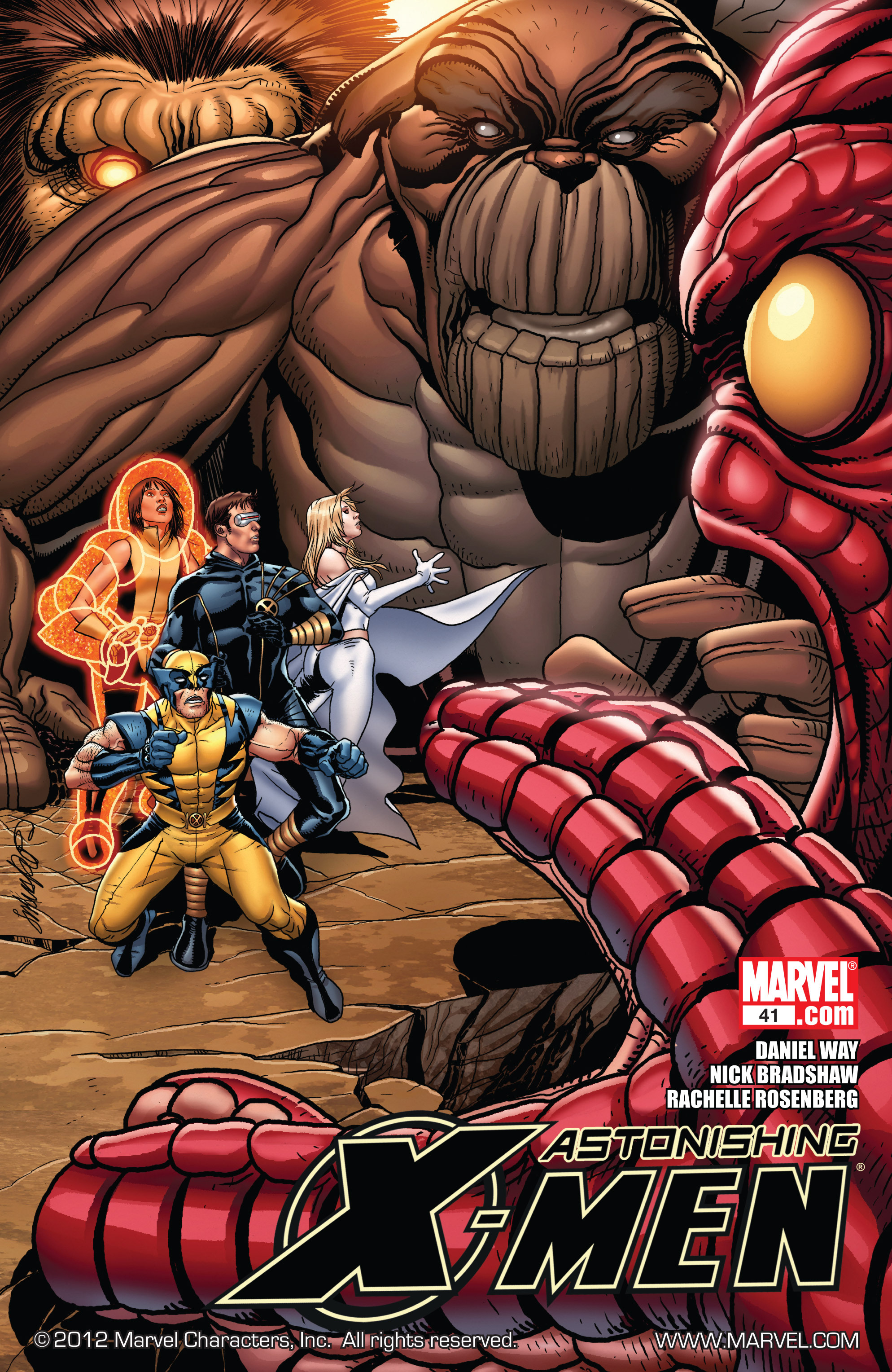 Read online Astonishing X-Men (2004) comic -  Issue #41 - 1