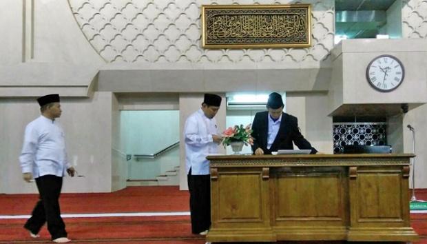 Lima Keistimewaan Kiswah di Istiqlal Hadiah Raja Salman