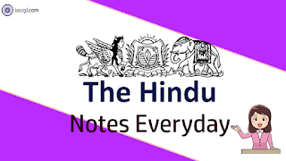 The Hindu Notes for 27th April 2019