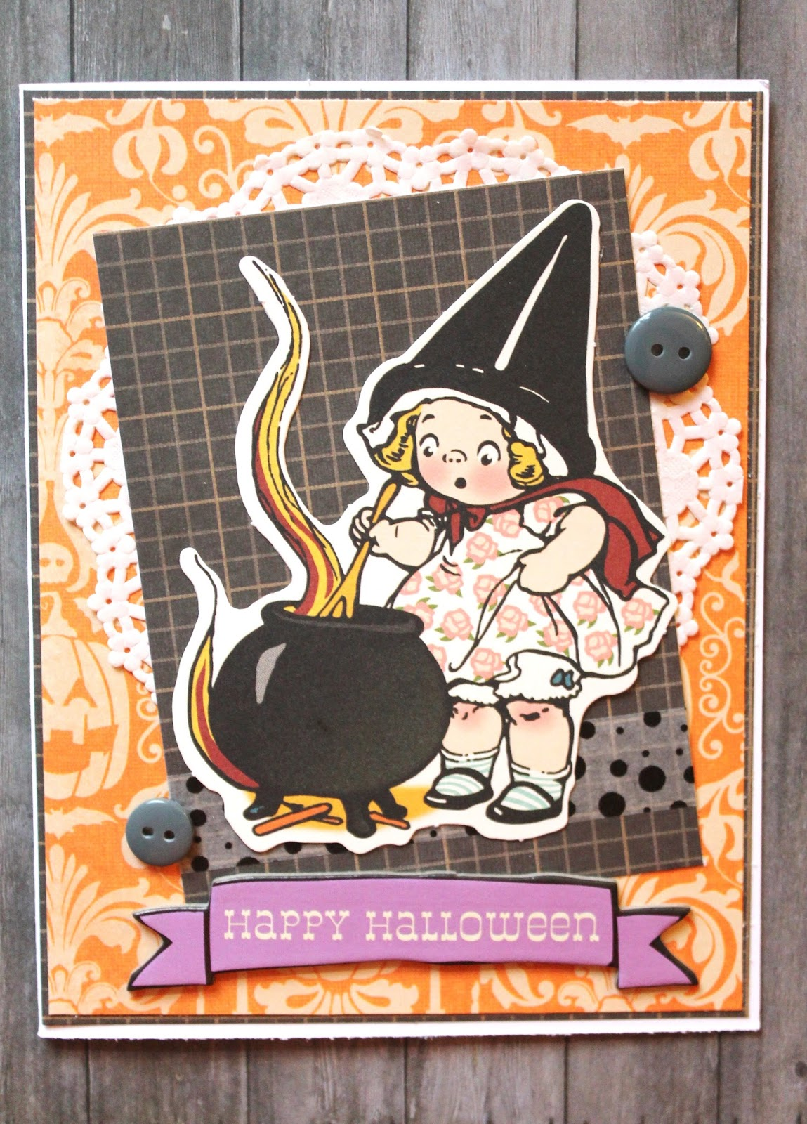 This Was A Really Fun Card To Make And It Helped Put Me In The Halloween Spirit So Before Rolls Around Some Cute Cards For Your