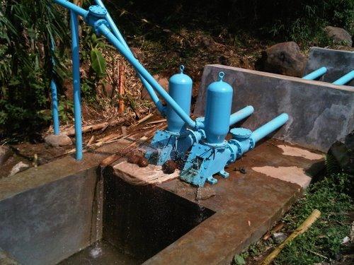 Penemuan Pompa Air Tanpa Listrik