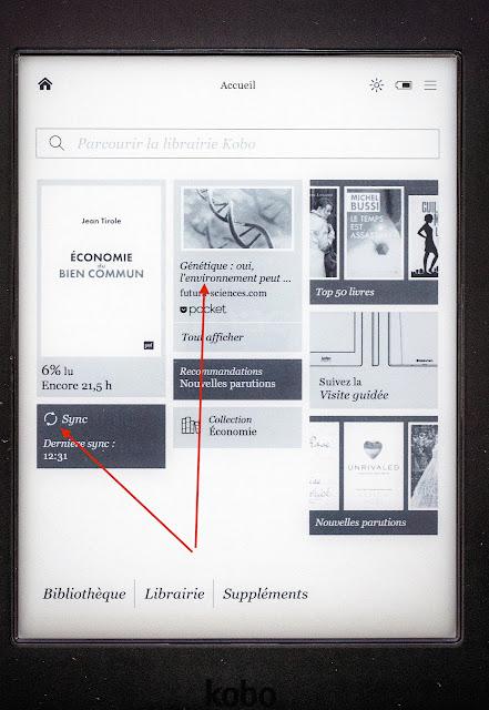 comment lire un pdf sur kobo