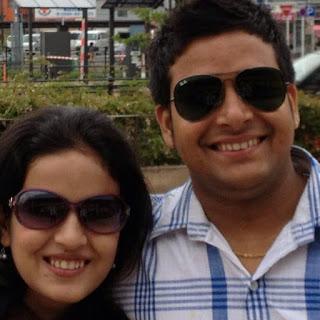 Manisha Aryal & Laxman Gywali,Cute Nepali Couple