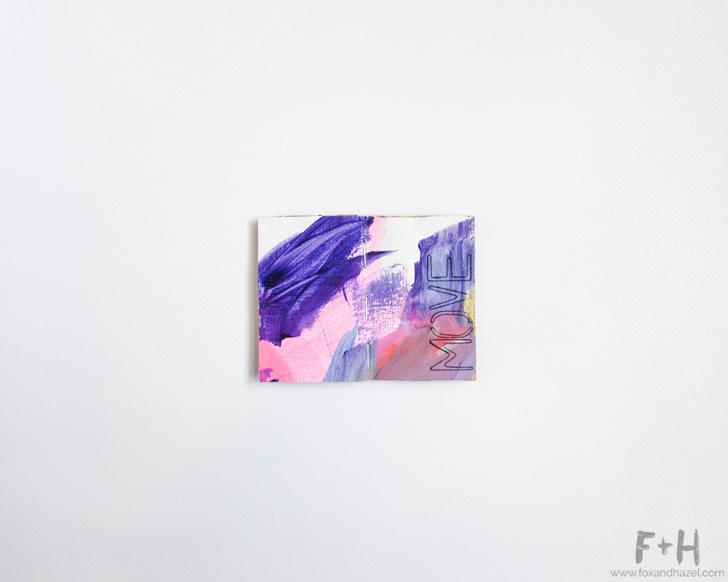 Tiny Art Journal #9 // Fox + Hazel
