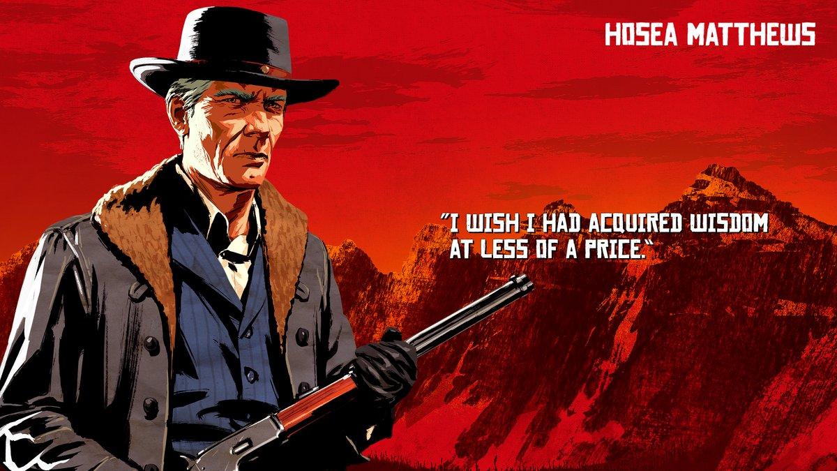Hosea Matthews - Red Dead Redemption 2