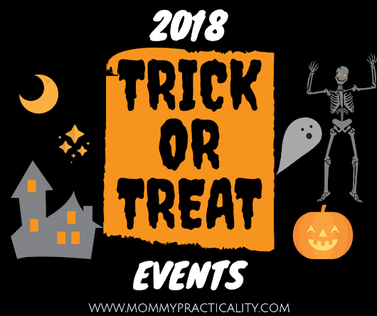 2018 List of Halloween Trick or Treat Events in Metro Manila - Mommy Practicality