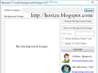 Cara mengubah gambar background folder di windows 7 Lengkap