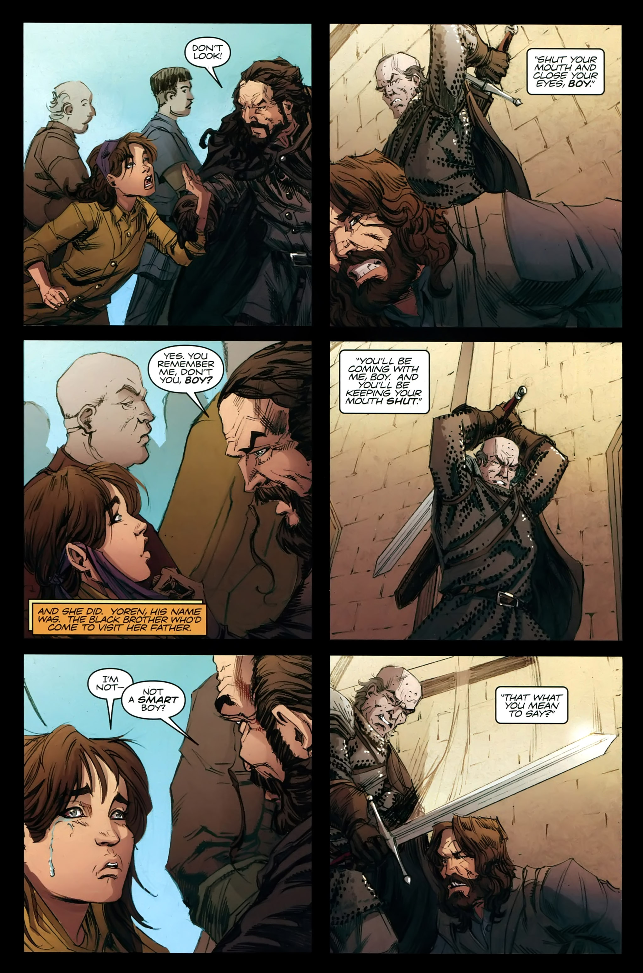 Read online A Game Of Thrones comic -  Issue #21 - 29