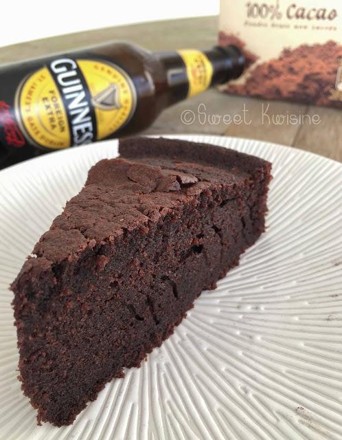 sweet kwisine, gateau, chocolat, Guinness, bière, chocolate, cake, Irlande, beer