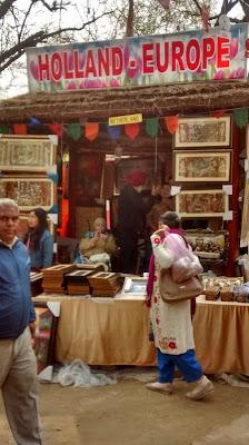 Netherland stall at Surajkund mela