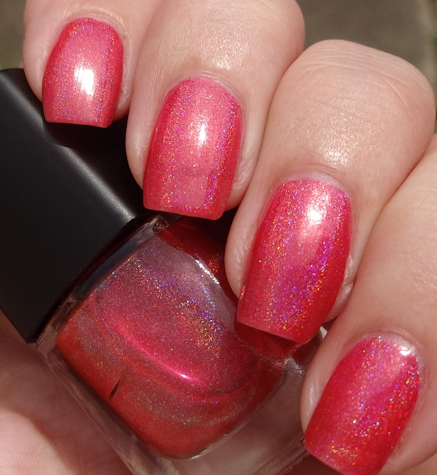 Super Black Holographic Nail Polish Uk: Wendy's Delights: Born Pretty Store Red Holographic Nail