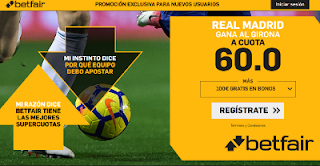 betfair supercuota Real Madrid gana Girona 31 enero 2019