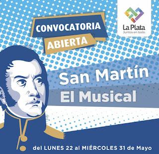 Comenzó la convocatoria a alumnos para conformar un musical sobre la vida de San Martín
