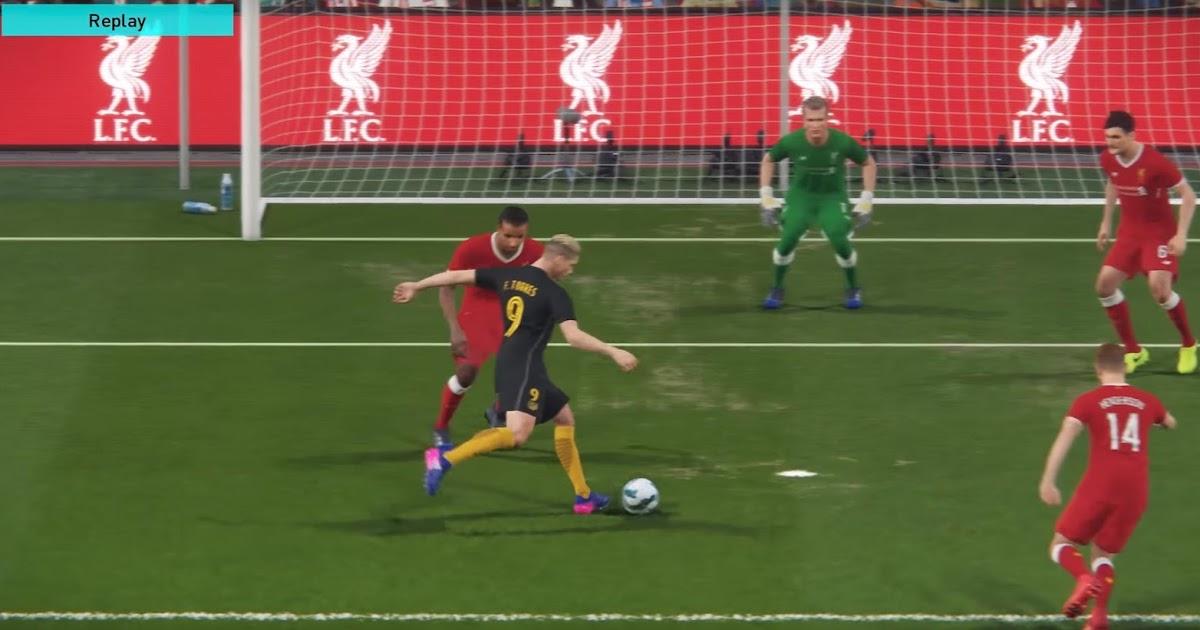 Pes 2018 Gameplay Liverpool Vs Atl 233 Tico Madrid Footy