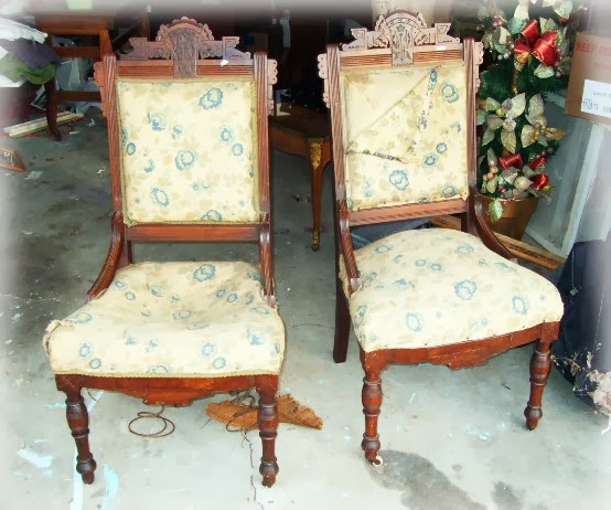 eastlake victorian parlor chairs ikea folding chair musings of a sea witch february 2014 i can t resist antique especially if they are priced right this pair hand carved walnut use good