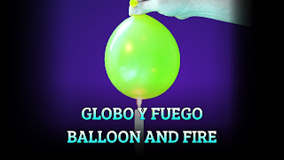 Globo y fuego, THERMAL CONDUCTION, Balloon and fire