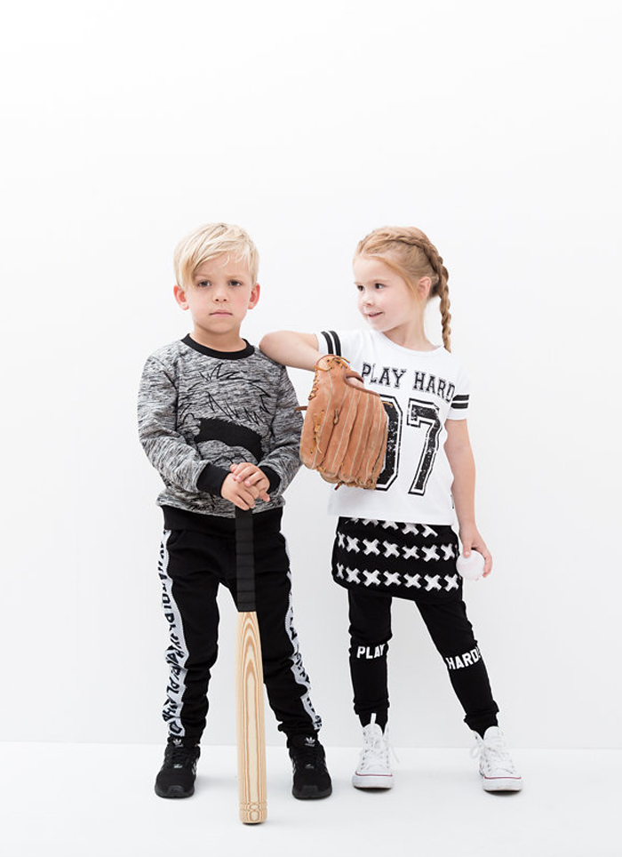 Lucky No 7 Autumn 2016 Play Hard kids fashion collection