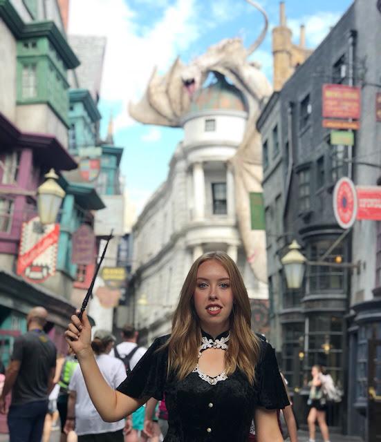 Making Magic In Diagon Alley at Universal Orlando