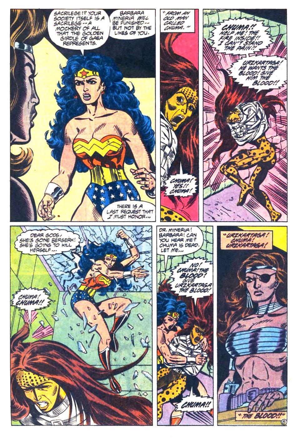 Read online Wonder Woman (1987) comic -  Issue #33 - 9