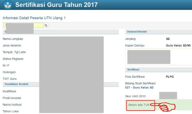 Informasi Detail Peserta UTN Ulang Tahun 2017