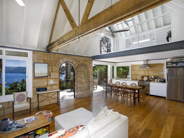 Stunning Stone Beach House in Avalon | Desire Empire - photo#39