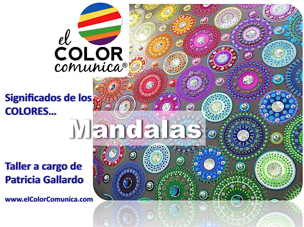El color comunica mandalas de luz y color para el alma - Colores para mandalas ...