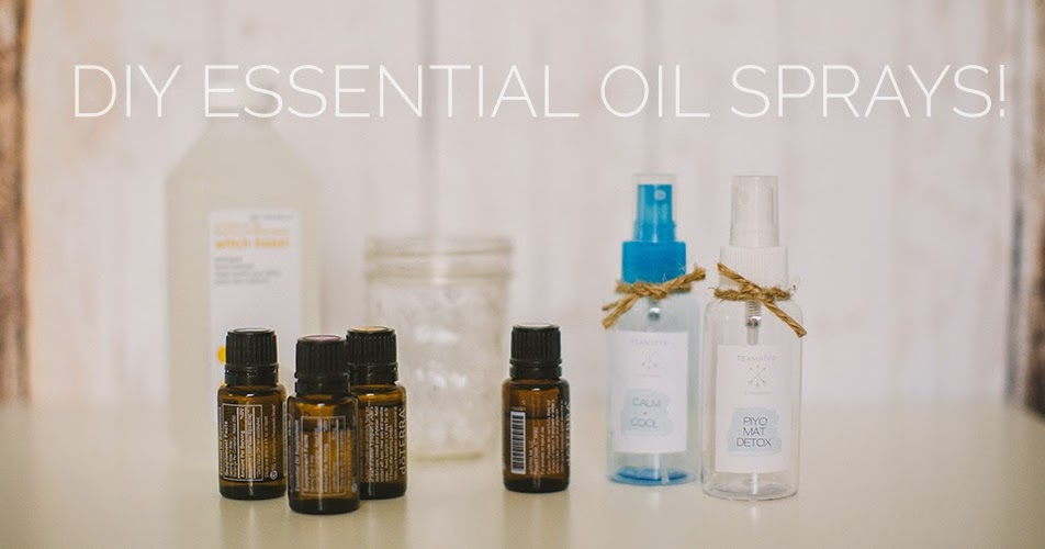 Make Essential Oil Spray Yoga Mat Cleaner Life As An