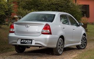 Novo Etios Sedan 2018 Consumo de Combustível