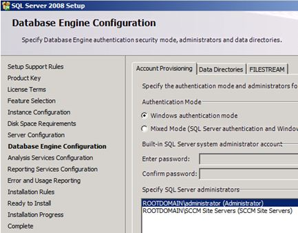 Installing an SCCM 2012 RC1 Primary Site | NETvNext Blog