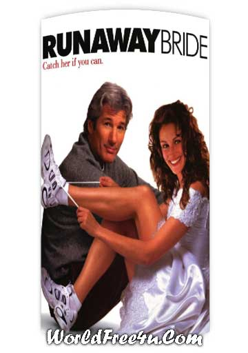 Poster Of Runaway Bride (1999) In Hindi English Dual Audio 300MB Compressed Small Size Pc Movie Free Download Only At worldfree4u.com