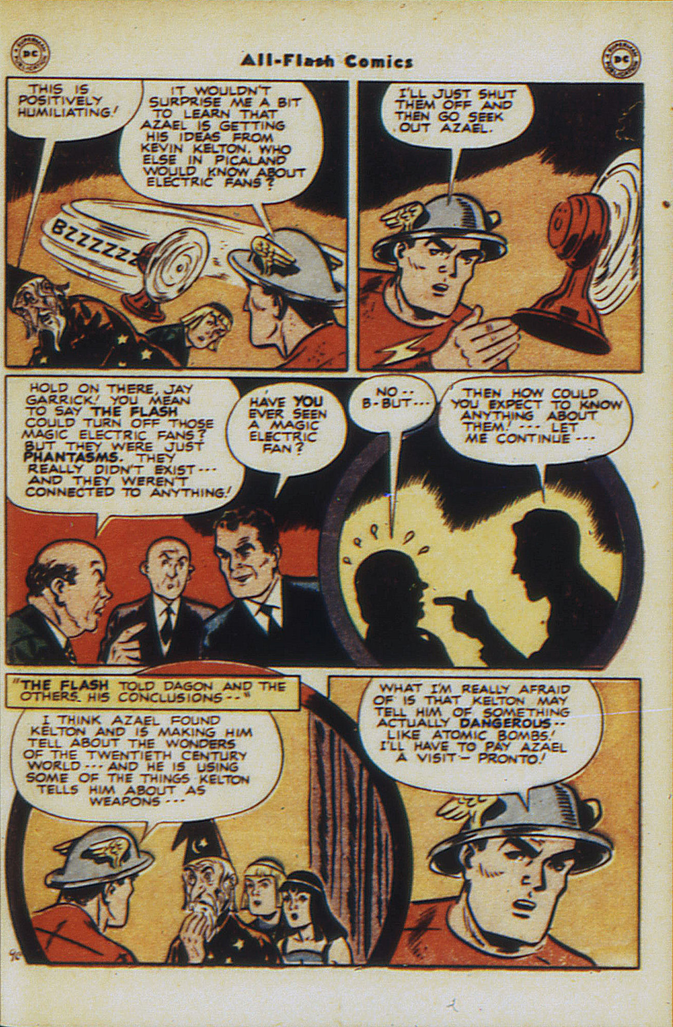 Read online All-Flash comic -  Issue #30 - 47