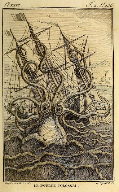 Kraken Giant Octopus