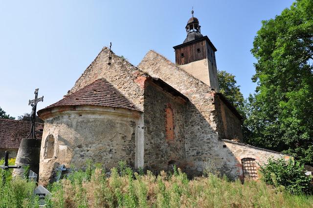 Kościelniki Średnie - późnoromański kościół