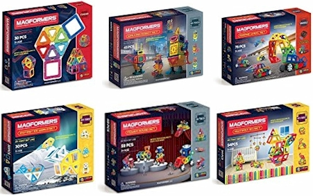 3b158093c4e TODAY 6 2 17 ONLY  Reduced prices on six Magformers sets on Amazon  (starting at  19)