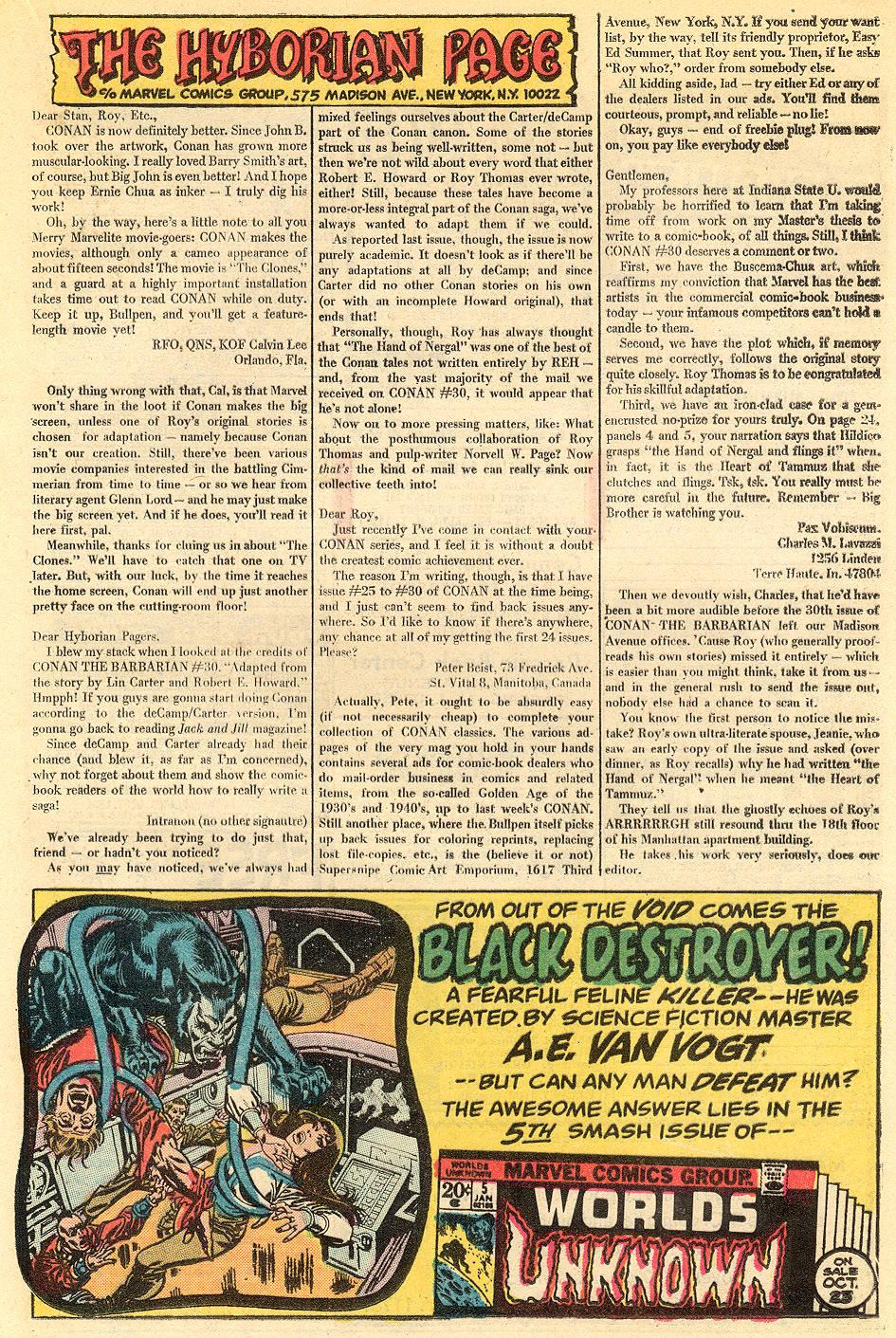 Conan the Barbarian (1970) 34 Page 22