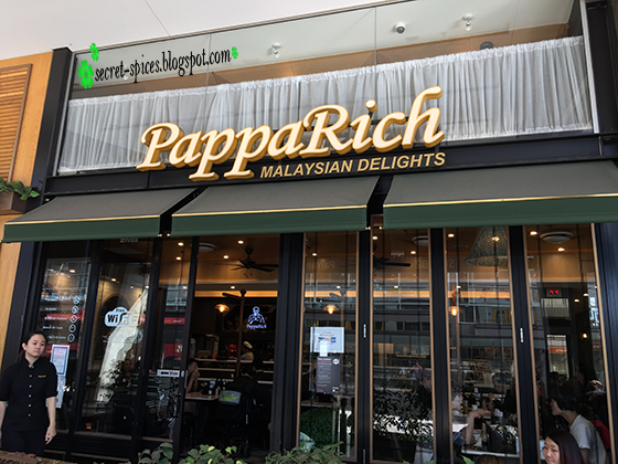 PappaRich Malaysian Restaurant, Parramatta, Sydney